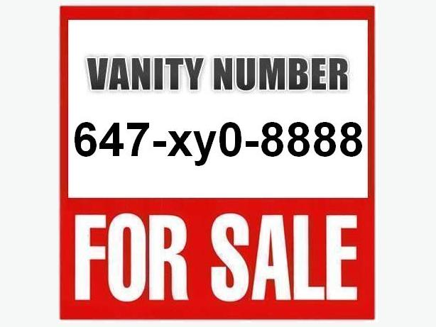 Vanity/VIP 647 Number 647.xy0.8888 - Quad Lucky 8 #, NO Contract