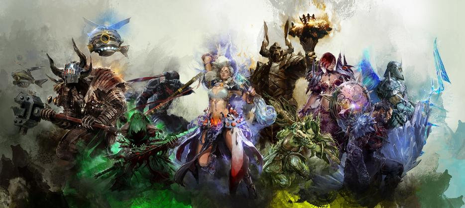 $10 · Brand New Guild Wars 2 Elite Specializations Long Poster