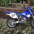 2004 Yamaha  Wr250f *street legal*