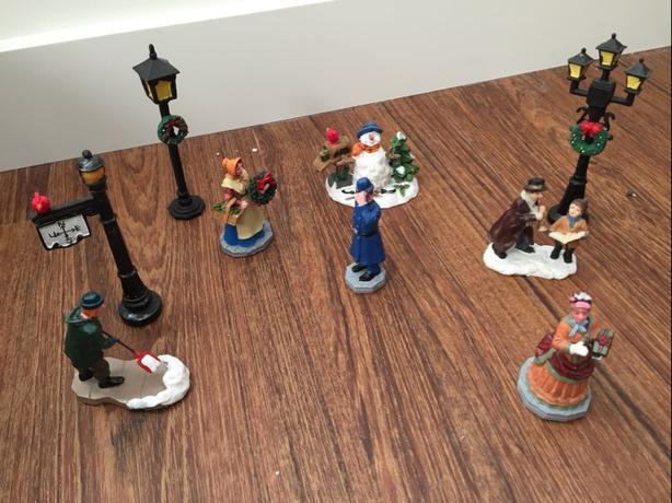Lemax Christmas Village pieces