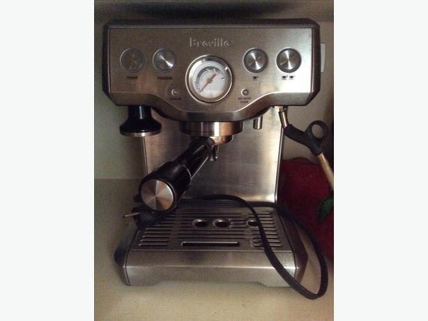 Espresso Machine Breville Infuser (used a dozen times)
