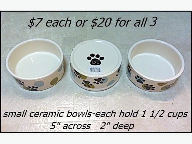 DOG ACCESSORIES $5 - $10 Each