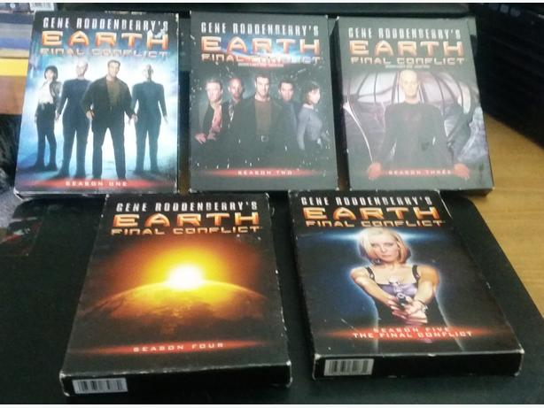 Earth: Final Conflict Complete Series DVDs