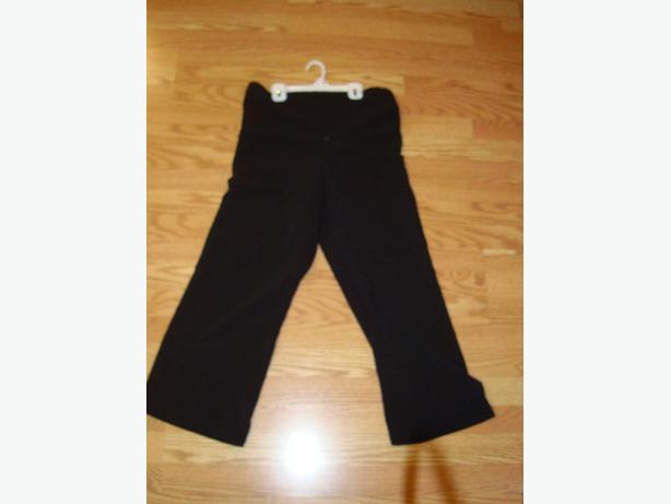 Like New Maternity Pants Black Dress Size S_M Adjustable - $10