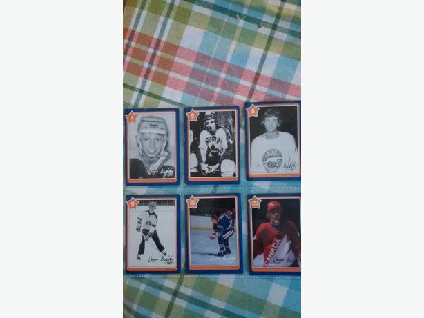 Wayne Gretzky Neilson Hockey Cards