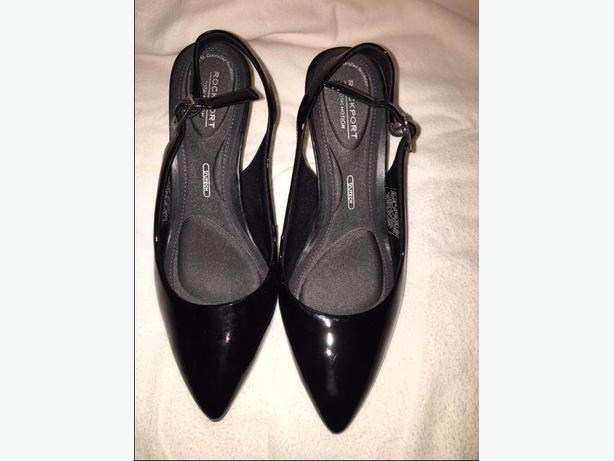 Patent leather heels Size 6