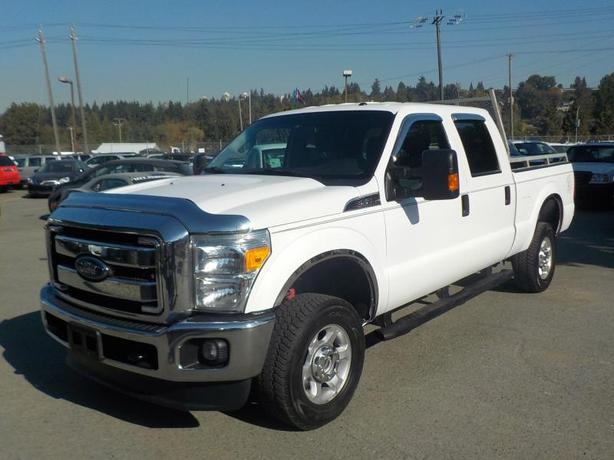 2014 Ford F-250 Sd Xlt Crew Cab Regular Box 4WD