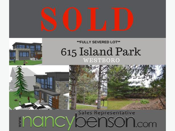 SOLD!! 615 Island Park- Quiet interior Crescent