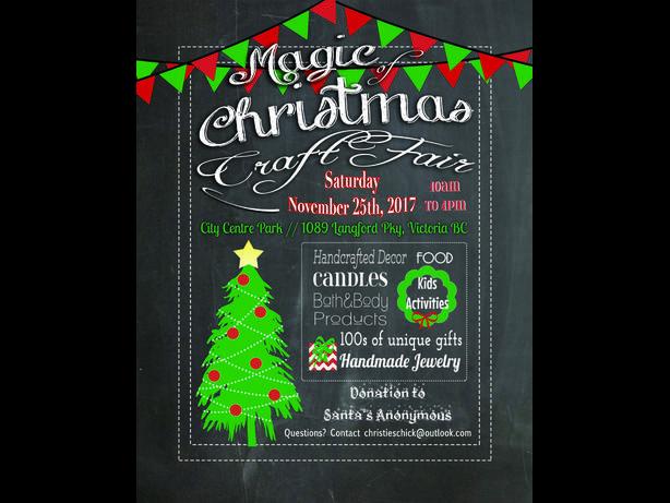 3rd Annual Magic of Christmas craft fair