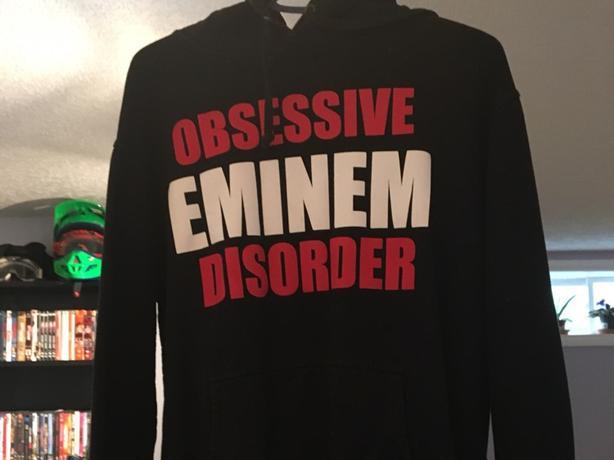 Eminem hoodie unisex