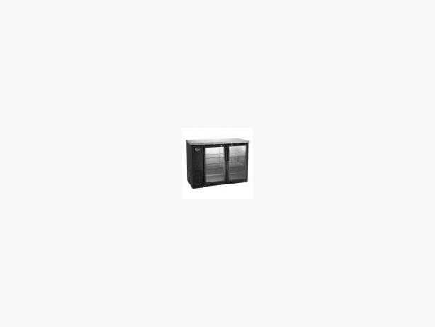 """NEW KELVINATOR 60"""" GLASS DOOR BACK BAR REFRIGERATOR"""