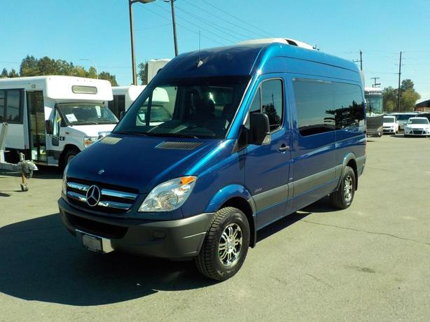2013 Mercedes-Benz Sprinter High Roof 2500 8 Passenger Van 144-in. WB Diesel