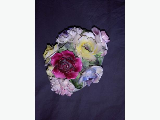 Vintage Fairweather Bone China Floral Bouquet Gorgeous