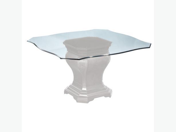 glass table top view. 54\ Glass Table Top View
