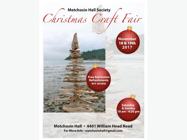 Metchosin Hall Arts & Crafts Sale
