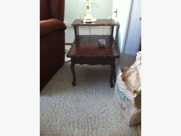 Two level Side Table