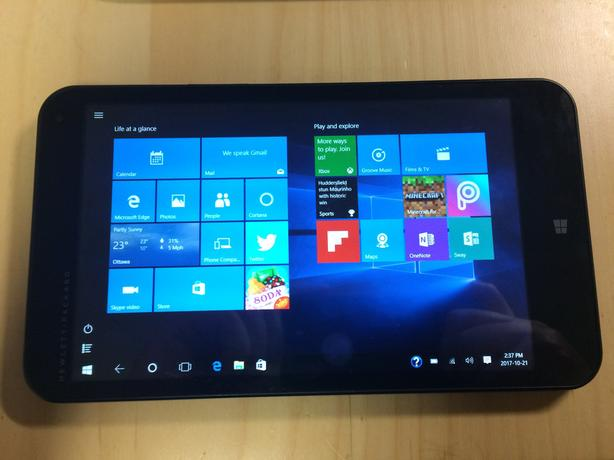 HP Stream 7 Windows 10 Home tablet (5709) with WiFI, PERFECT SCREEN