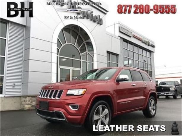 2015 Jeep Grand Cherokee Overland - Leather Seats - $272.86 B/W