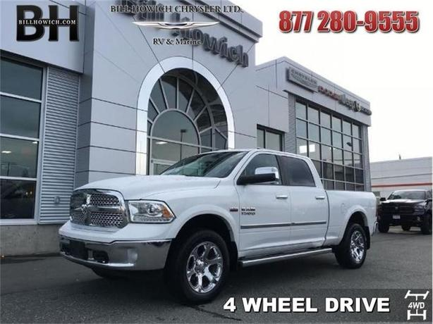 2013 Ram 1500 Laramie - Sunroof - Uconnect - $247.18 B/W