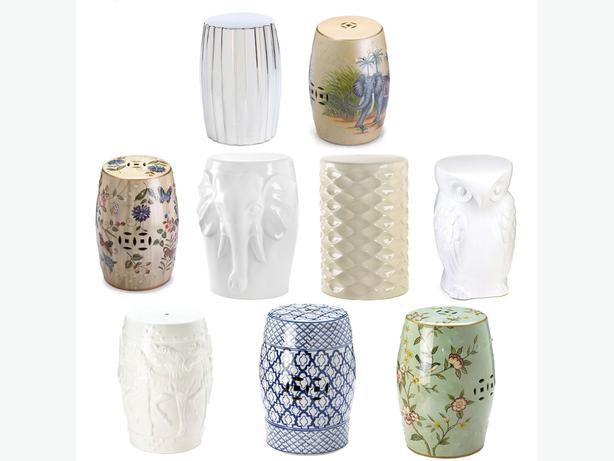 Ceramic Stool Side End Table Plant Stand 9 Different Designs Your Choice New