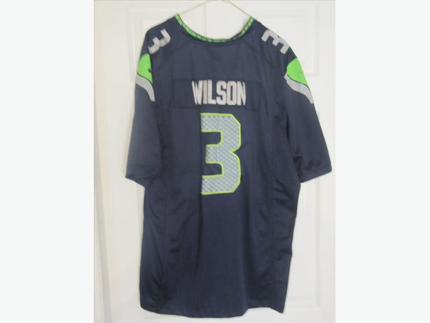 Russell Wilson Seattle Seahawks Nike Jersey. Adult XL.  Stitched