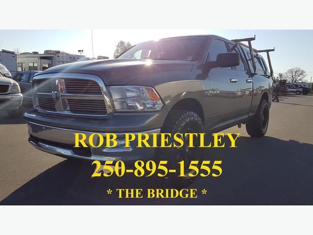 2010 RAM 1500 QUAD CAB SLT 4X4 * THE BRIDGE *