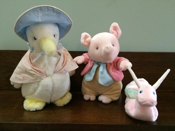 ‎Beatrix Potter Character Stuffies - Like New Condition