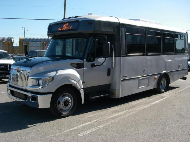2014 International 3000 22 Passenger Bus Diesel with Wheelchair Accessibility