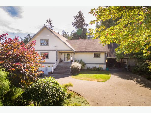 6+ Flat sunny acres in Victoria BC, 5000+- sq. ft. home & 2300 sq. ft. barn