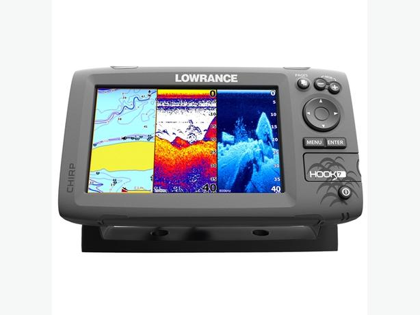 NEW: Lowrance Hook 7 ChartPlotter/Fish Finder Combo - Canadian Bundle