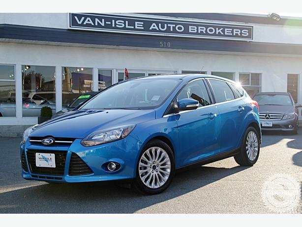 2012 Ford Focus Titanium Only 61,000KM