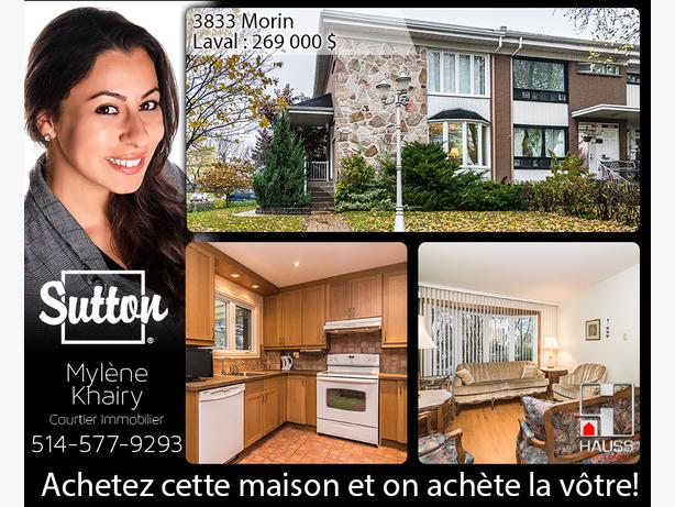 Townhouse 3 Bedroom - Laval