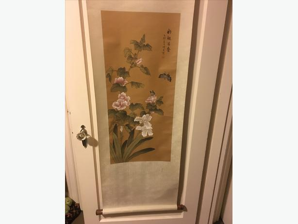 Beautiful Antique Chinese Handscroll Painting