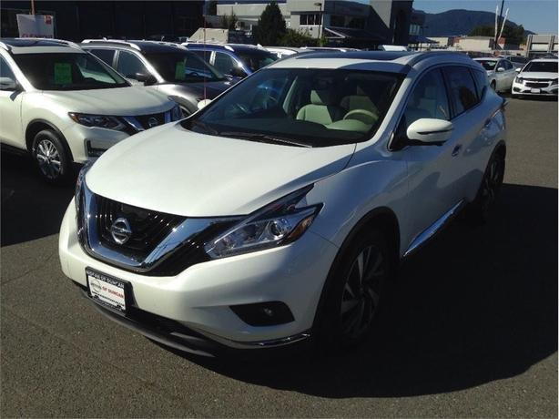 2016 Nissan Murano Platinum AWD Certified Pre Owned