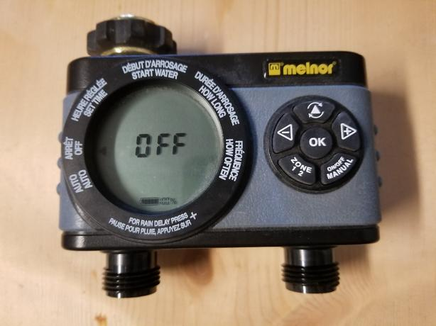 melnor 2 zone water timer