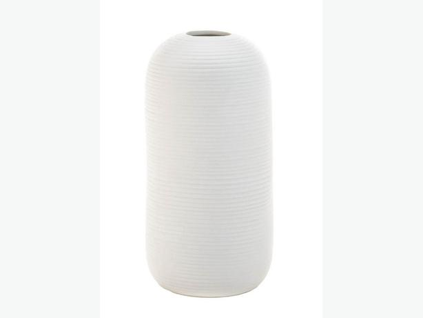 Contemporary Small White Ceramic Vase Gifts Resale Wedding Centerpiece 8 Lot