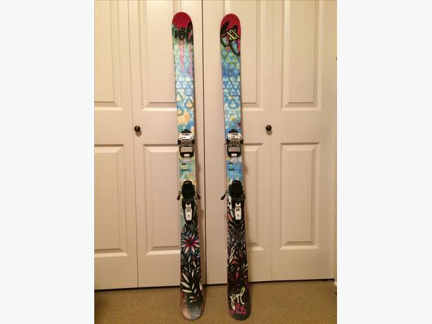 Volkl womens 2012 prl skis 155cm