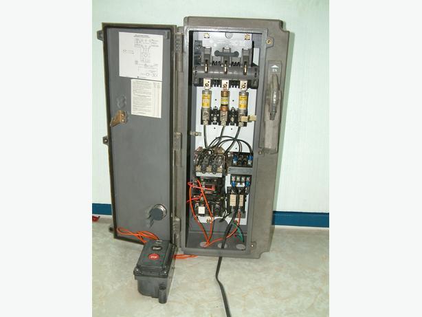 Allen Bradley Motor Control Centre & Disconnect