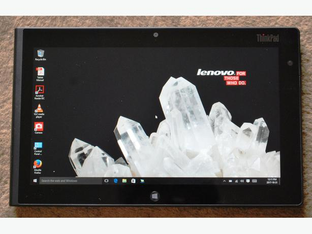 Lenovo Tablet with 10 inch screen and Tough Case