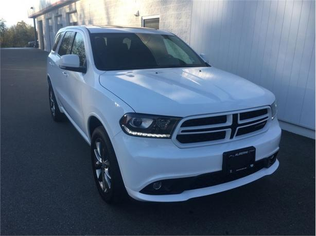2017 Dodge Durango GT  Rear Dual DVD Screen - AC