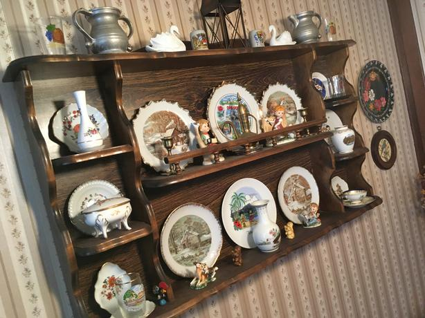 Hummel, Steins, Spoons, Plates, Figurines, Crystal, Glass, Record Players