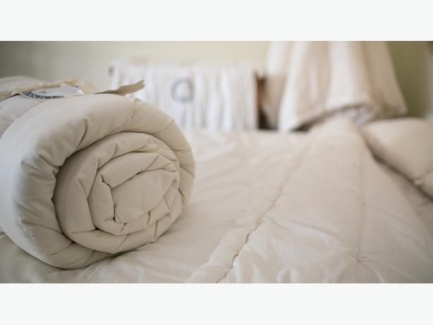 Natural Wool Comforters Available at Resthouse