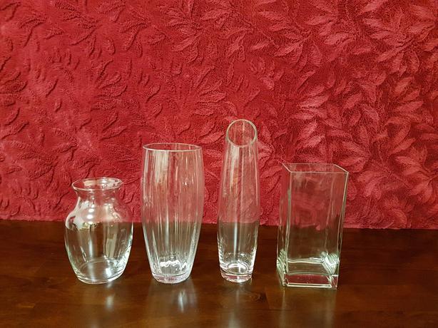 Assorted Glass Vases Set Of 4 Saanich Victoria