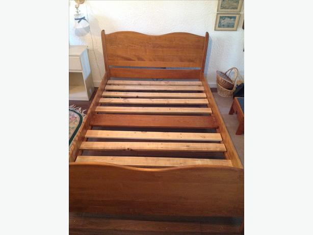 Solid Maple Bed Frame