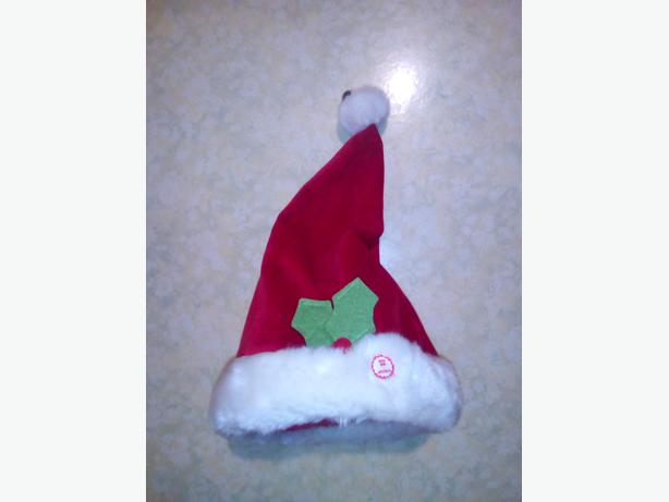 Christmas Singing Dancing Santa Hat