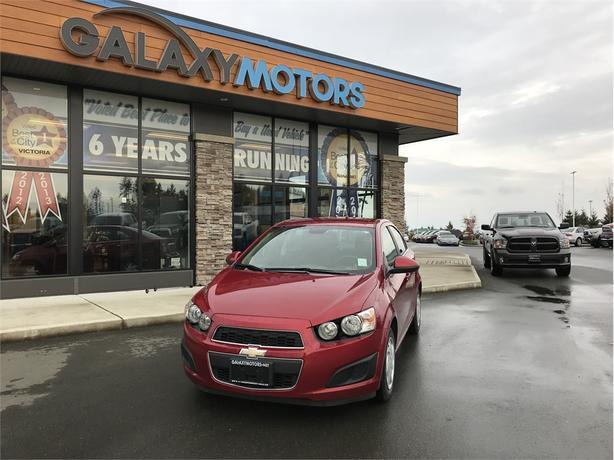 2013 Chevrolet Sonic LT - ONSTAR, CRUISE CONTROL, KEYLESS ENTRY, POWER SEATS