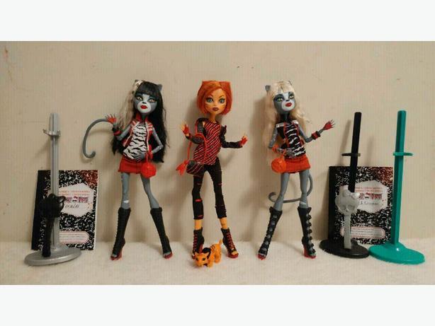 Monster High Cat Dolls