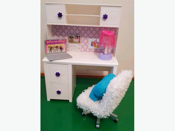 Doll Desk and Chair Set
