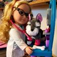 Pet Doctor Doll and Animal Set