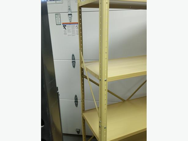 Metal Shelving Unit For Sale